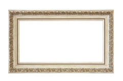Empty picture frame isolated Clipping Path Stock Images