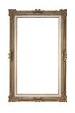 Empty picture frame isolated Clipping Path. Empty picture frame isolated on white Clipping Path Stock Photo