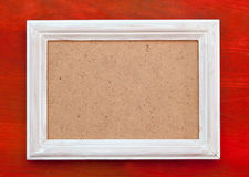 Empty picture frame Stock Photos