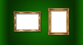 Empty picture frames Royalty Free Stock Photos