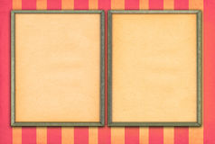 Empty picture frames Royalty Free Stock Photo