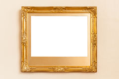 Empty picture frames Stock Photography