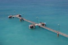 Empty Pier Stock Image