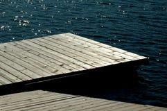 Empty pier royalty free stock photo