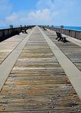 Empty Pier Stock Photos