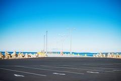 Empty pier. Stock Photos