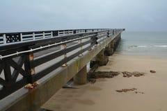 Empty Pier Stock Images