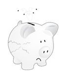 Empty piggy bank Royalty Free Stock Photo