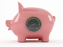 Empty piggy bank Stock Image
