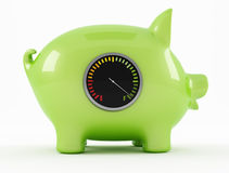 Empty piggy bank Royalty Free Stock Photography