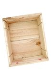 Empty Pine Box Royalty Free Stock Photo