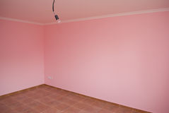 Empty pink room Stock Photography