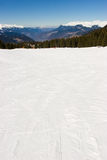 Empty piste Royalty Free Stock Photo