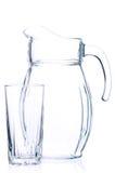 Empty pitcher Royalty Free Stock Photos