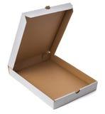 Closeup White Open Blank Pizza Box White Background Stock Photos ...
