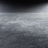 Empty place. With ground and wall stock images