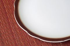 Empty Place Setting Royalty Free Stock Image