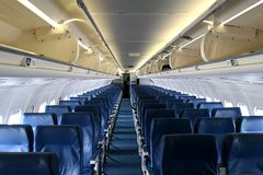 Empty Plane Royalty Free Stock Photos