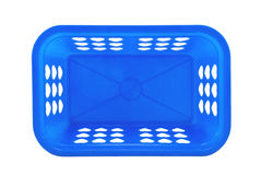 Empty plastic basket Royalty Free Stock Images