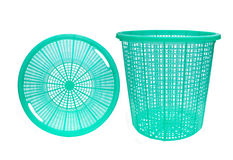 Empty plastic basket Stock Photo