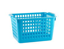 Empty plastic basket Royalty Free Stock Photo