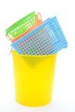 Empty plastic basket Royalty Free Stock Photo