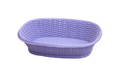 Empty plastic basket Stock Photography