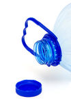 Empty plastic bottle stock photo