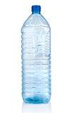Empty plastic bottle. On white background royalty free stock images