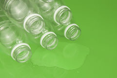 Empty Plastic bottles Stock Image