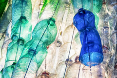 Empty plastic bottles Royalty Free Stock Photography