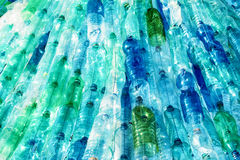 Empty plastic bottles Stock Images