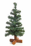 Empty plastic Christmas tree Stock Image