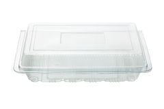 Empty plastic Container Royalty Free Stock Images