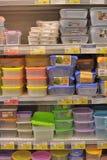 Empty plastic containers Stock Image