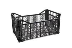 Empty plastic crate Royalty Free Stock Photos