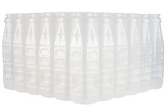 Empty plastic drinking bottles Royalty Free Stock Photography