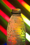 Empty plastic soda bottle Royalty Free Stock Photography