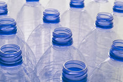 Empty plastic water bottles Stock Photography