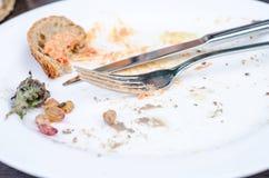 Empty Plate Stock Image