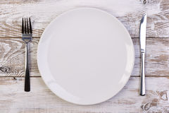Free Empty Plate Royalty Free Stock Image - 47197616