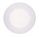 Empty plate on isolated Stock Image
