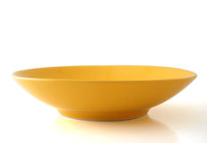 Empty plate  on white Royalty Free Stock Images