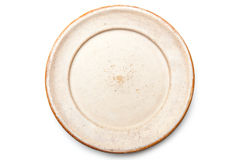 Empty plate Stock Images