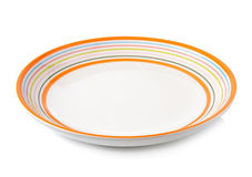 Empty plate Royalty Free Stock Images