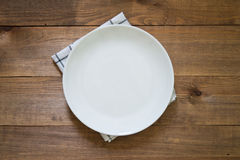 Empty plate Stock Photos