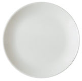Empty plated Royalty Free Stock Image