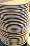 Empty Plates Royalty Free Stock Photos