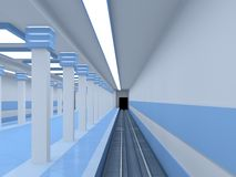 Empty platform Stock Images