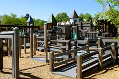 Empty Play Ground Stock Photography